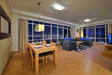 1 Bedroom Hotel Apartment for Rent in Jumeirah Lake Towers (JLT), Dubai - Fully Furnished and Serviced Hotel Apartments| JLT