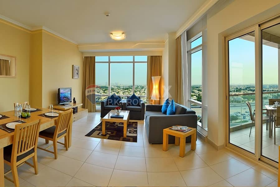 2 Fully Furnished and Serviced Hotel Apartments  JLT