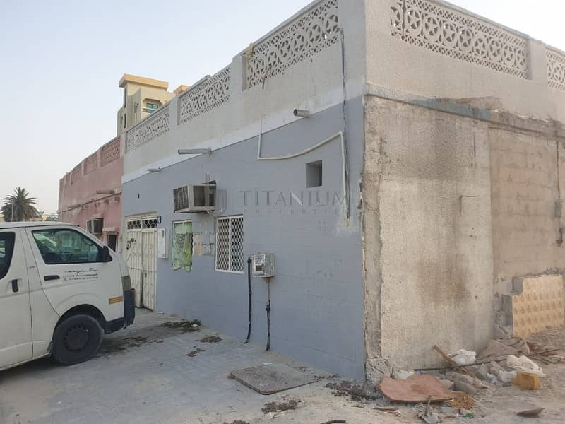 Al Bustan Villa for sale on metal road