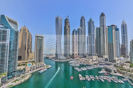 3 Bedroom Flat for Sale in Dubai Marina, Dubai - Vacant Now | Full Marina View  3BR+Maid | Must See