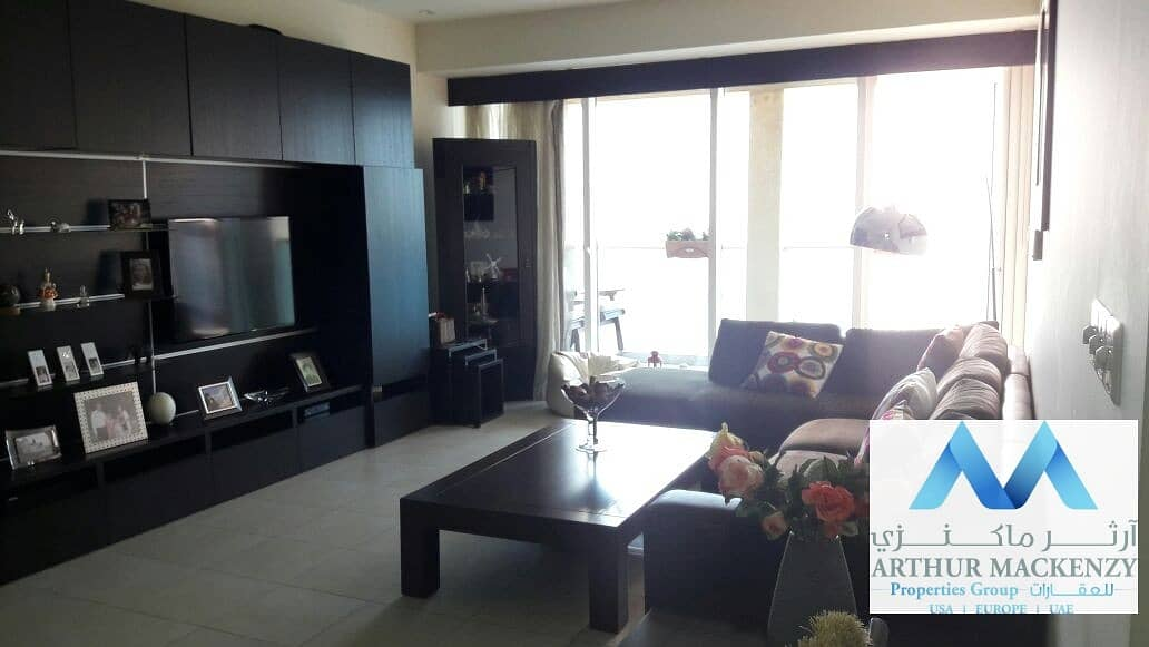 Beautifully Furnished | High Floor | Skyline View - Business Bay e