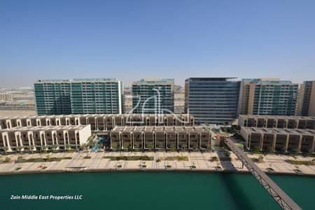 فلیٹ 1 غرفة نوم للبيع في شاطئ الراحة، أبوظبي - Modern 1 BR Apt Sea View with Beach Access