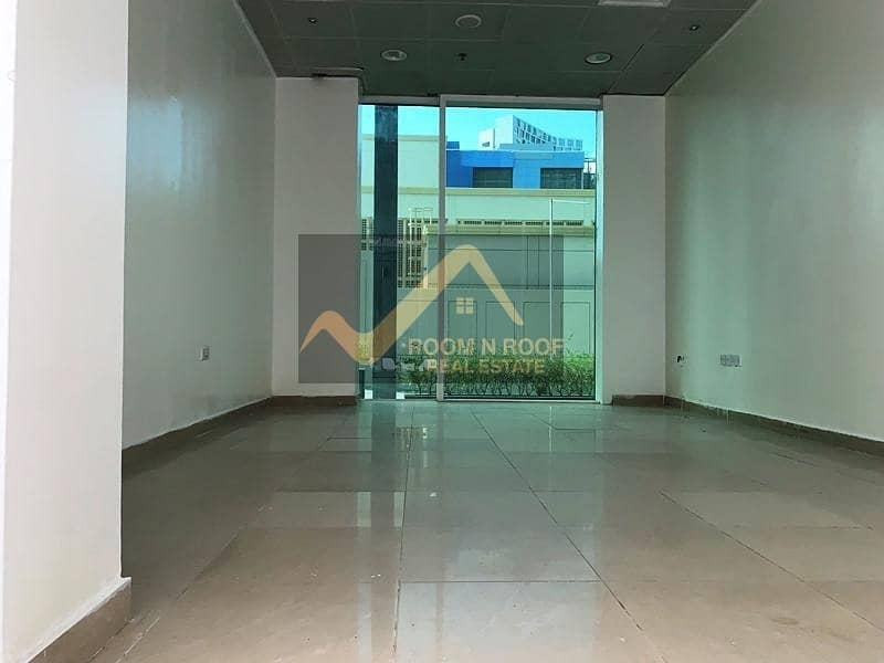 1 Month Free  Fully Fitted Shop For Rent  Crystal Tower  Business Bay  Ground Floor