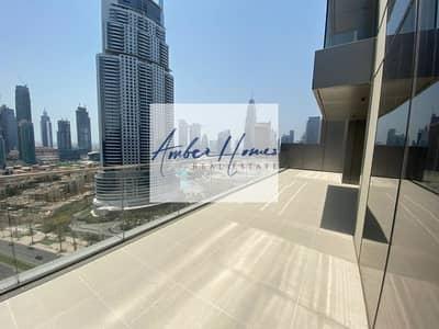 2 Bedroom Apartment for Sale in Downtown Dubai, Dubai - Huge Terrace | 2BR w/ Full Burj Khalifa View