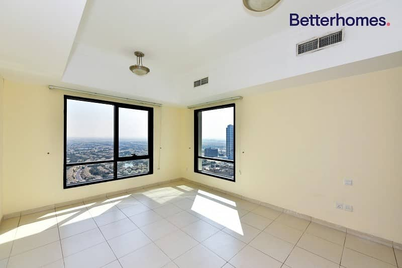 2 Vacant | High Floor| Park View | Unfurnished
