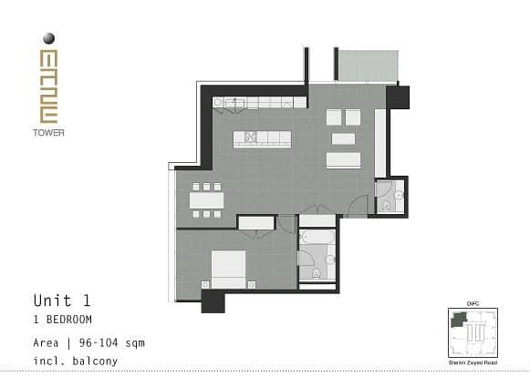 10 - Spacious Open Plan Apartment -