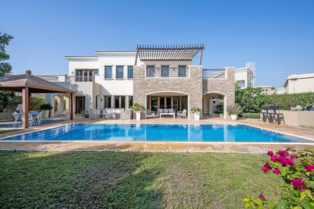 6 Bedroom Villa for Sale in Jumeirah Golf Estate, Dubai - Bespoke Valencia with Guest Studio | 6 Bed