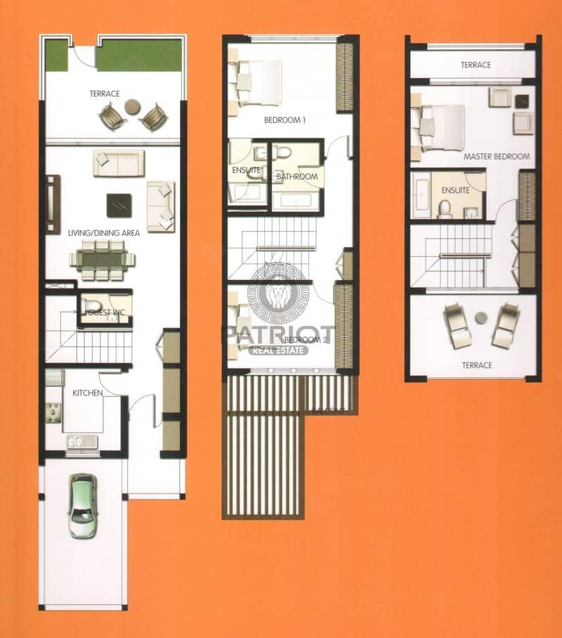 24 stunning 3 Bedroom Townhouse in al Badrah   a Large plot