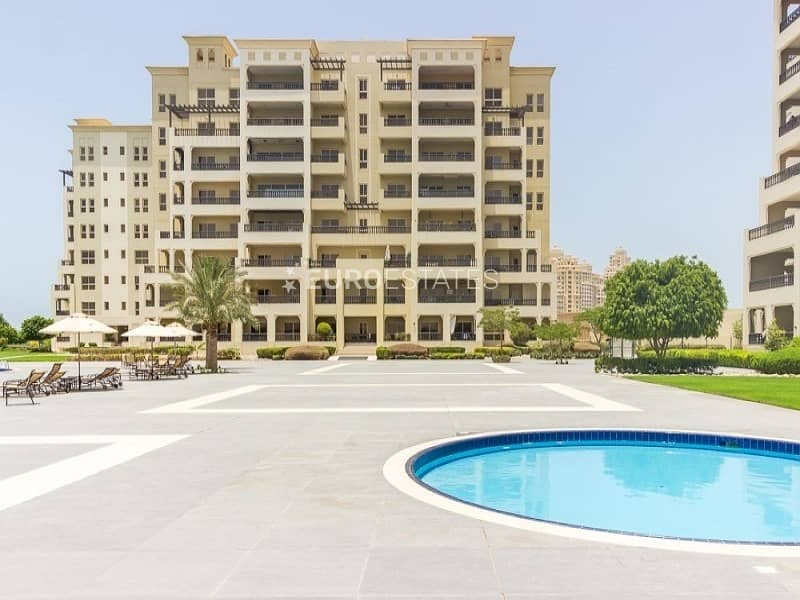 2 Refined 1 BR Apt. | Furnished + Large Balcony