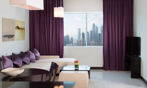 2 Bedroom Hotel Apartment for Rent in Jumeirah Lake Towers (JLT), Dubai - 5 Star Hotel Apartments | Rent | 2BR