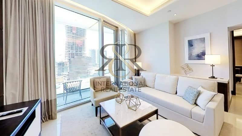 With 360 Video Tour | Furnished 1 Bedroom Plus Study