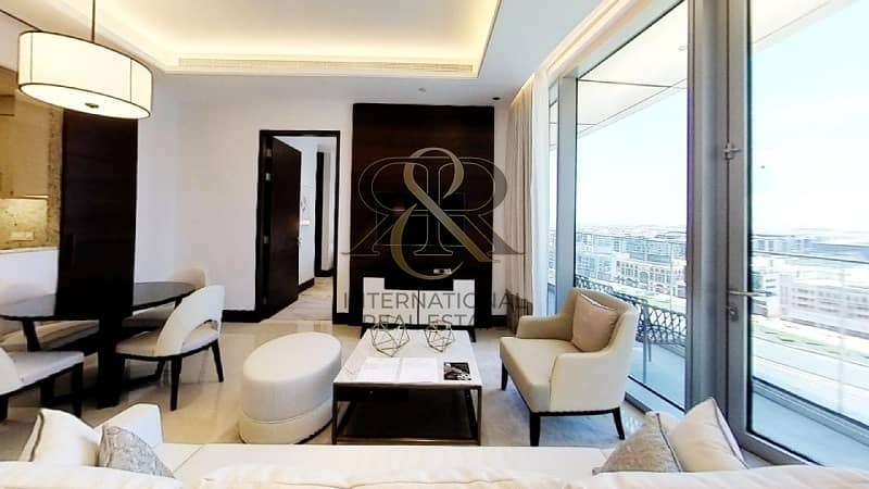 2 With 360 Video Tour | Furnished 1 Bedroom Plus Study