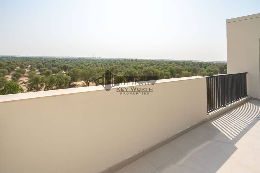 14 Brand new & Luxury apartment in Mirdif Hills | Mushrif park & Greenery view !