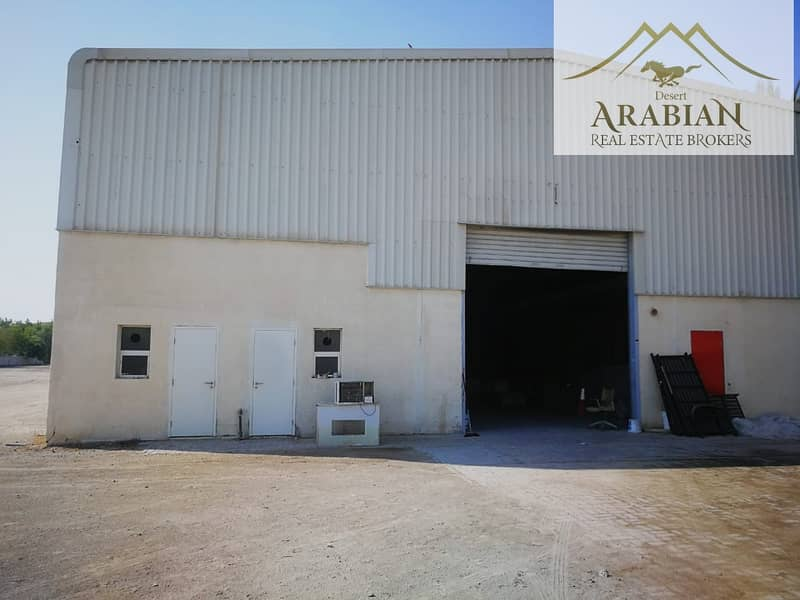 2 AED9 per Sqft| 210 KV | Huge Plot +Store