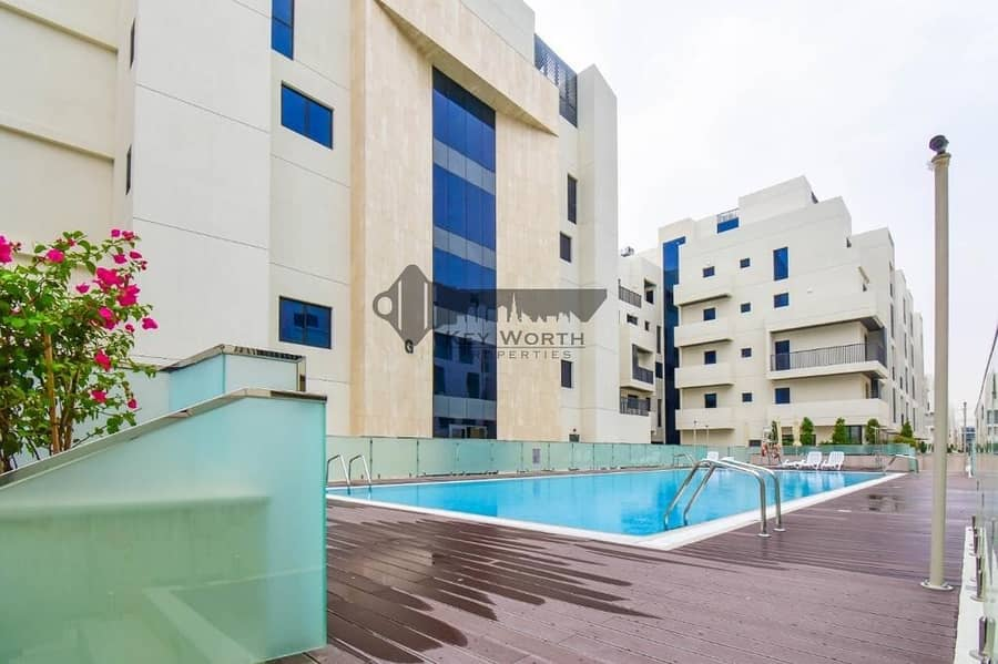Brand new & Luxury apartment in Mirdif Hills | Mushrif park & Greenery view !