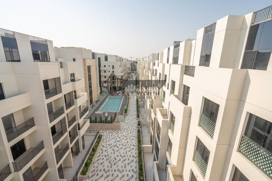 2 Brand new & Luxury apartment in Mirdif Hills | Mushrif park & Greenery view !