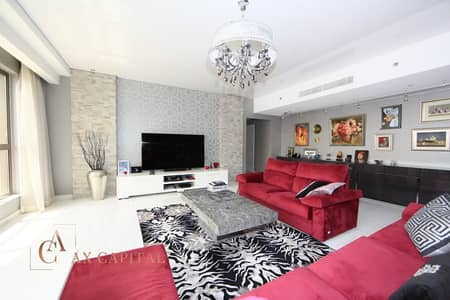 شقة 4 غرف نوم للبيع في جميرا بيتش ريزيدنس، دبي - Fully Renovated | Full Marina View | 2 Parkings