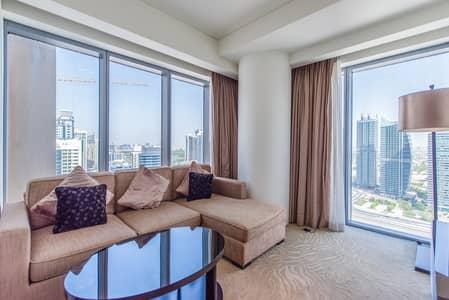 فلیٹ 1 غرفة نوم للبيع في دبي مارينا، دبي - Corner Unit | Marina View | Fully Furnished