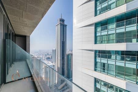 Sheikh Zayed Road View | Unfurnished | Balcony