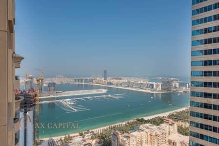 4 Bedroom Apartment for Rent in Dubai Marina, Dubai - Panoramic Sea View | Furnished | Spacious