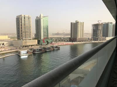 1 Bedroom Apartment for Sale in Business Bay, Dubai - Rented | Canal View | Mid floor | Huge Fully furnished One Bedroom in Waters Edge