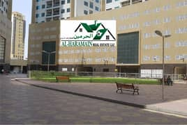 2 Bedroom Hall Ajman Pearl AED 23,000 City View with Balcony