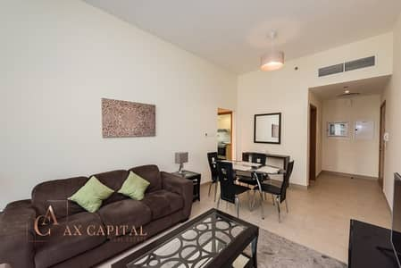 1 Bedroom Flat for Rent in Business Bay, Dubai - Balcony | Community View | Fully Furnished