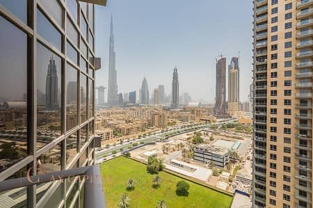 شقة 1 غرفة نوم للبيع في وسط مدينة دبي، دبي - Investor Deal | Burj Khalifa View | Hot Deal