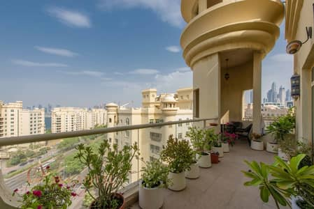 3 Bedroom Flat for Rent in Palm Jumeirah, Dubai - Fully Furnished | Spacious | Ready to move in
