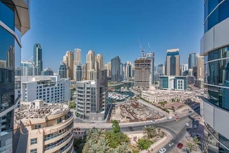 3 Bedroom Flat for Rent in Dubai Marina, Dubai - Marina View | Unfurnished | Balcony