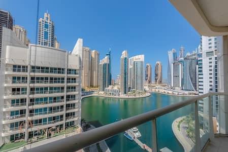 2 Bedroom Flat for Rent in Dubai Marina, Dubai - Marina View | Balcony | Fully Furnished