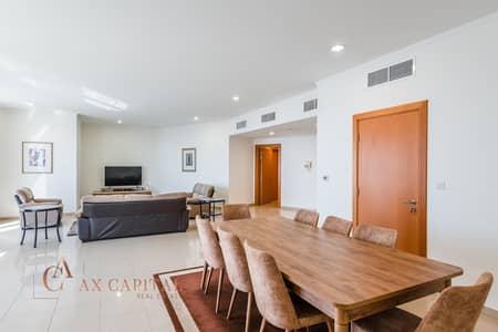 شقة 3 غرف نوم للايجار في شارع الشيخ زايد، دبي - Fully Furnished   Maids Room   Spacious Apt