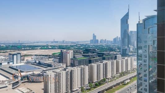فلیٹ 2 غرفة نوم للايجار في شارع الشيخ زايد، دبي - Sheikh Zayed Road View | Unfurnished | Marvelous Apt