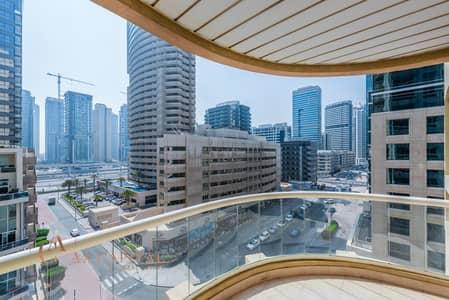 1 Bedroom Apartment for Rent in Dubai Marina, Dubai - Community View | Balcony | Spacious Apt