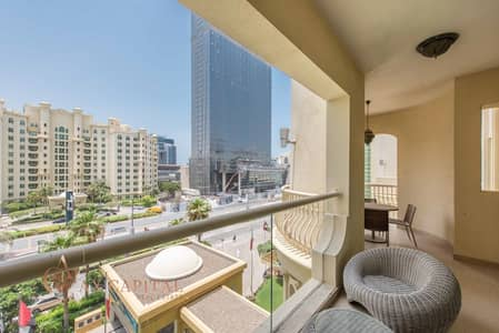فلیٹ 2 غرفة نوم للايجار في نخلة جميرا، دبي - Beach Access | 1 Month Free | Spacious Apt