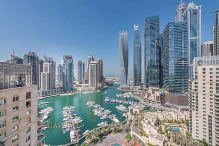 2 Bedroom Apartment for Rent in Dubai Marina, Dubai - Dubai Marina View   Spacious   Unfurnished