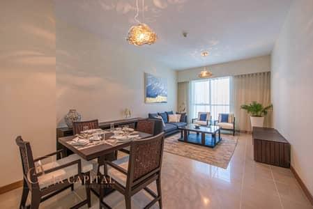 شقة 1 غرفة نوم للبيع في دبي مارينا، دبي - Balcony  | Spacious Apt | Fully Furnished
