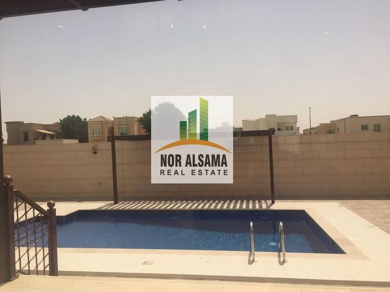 12 BRAND NEW 5BHK VILLA WITH SERVICES BLOCK AND POOL IN WARQA