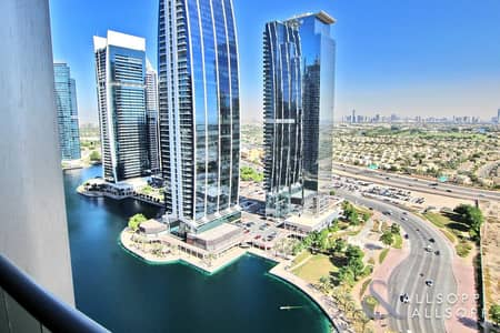 فلیٹ 2 غرفة نوم للبيع في أبراج بحيرات الجميرا، دبي - 2 Bedroom | Balcony | Lake & Green's Views