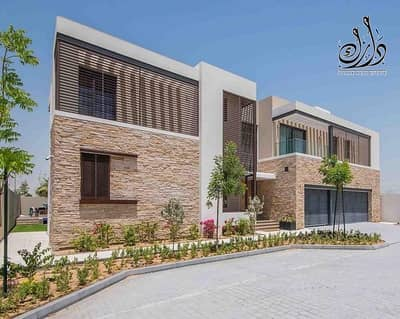 Luxury villa 4 BR in Mohmad bin Rachid city |on canal | High quality finishing