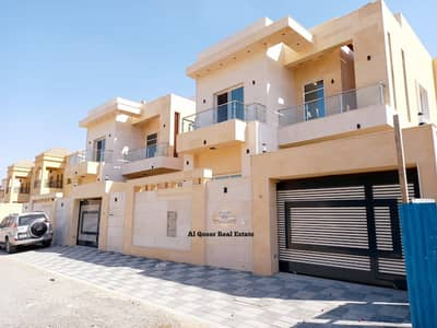 5 Bedroom Villa for Sale in Al Mowaihat, Ajman - European designed villa in an excellent location close to Sharjah, directly from the owner