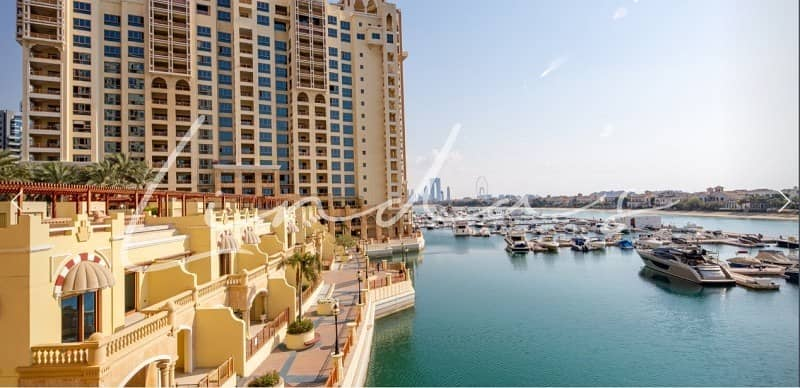 Full Sea & Marina View| Furnished| Terrace Apartment