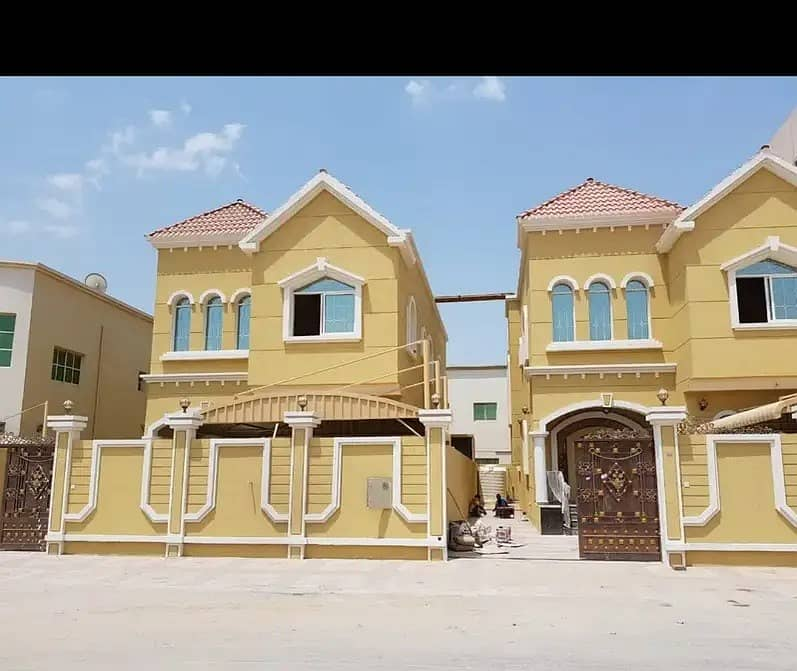 Villa for sale in Al Mowaihat 2 opposite Ajman Academy with cash or bank financing