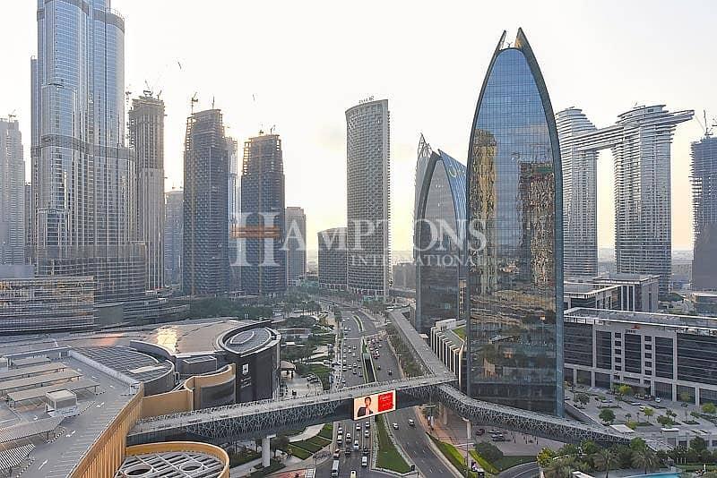 10 1 BR Apt in Address Dubai Mall Burj View