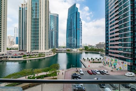 Studio for Rent in Jumeirah Lake Towers (JLT), Dubai - Full Window Unit I Full Lake View I Unfurnished