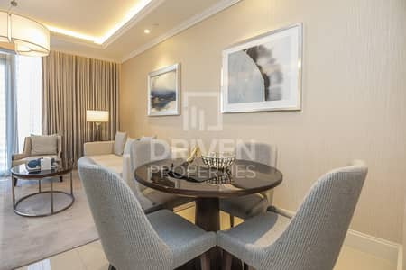 1 Bedroom Flat for Rent in Downtown Dubai, Dubai - Furnished & High Floor Apt | Creek Views