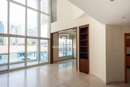 فلیٹ 3 غرف نوم للايجار في دبي مارينا، دبي - Bright 3 bedroom apt + maid's room II BBQ & Kids area