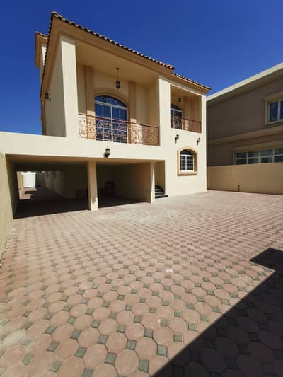 6 Bedroom Villa for Sale in Al Mowaihat, Ajman - For sale, a second piece of villa on Sheikh Ammar Street, freehold for all nationalities