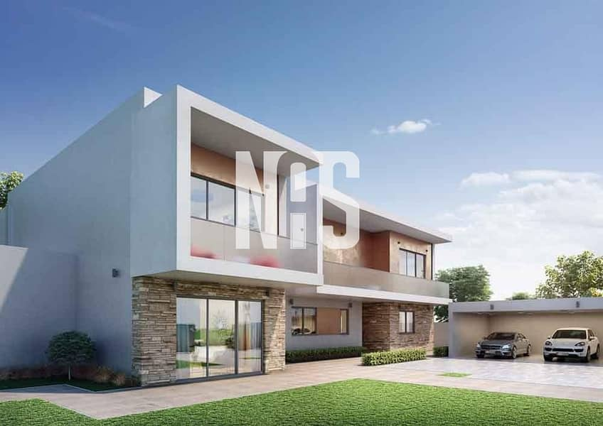 2 brand new 3 bedroom villa | hand over this month