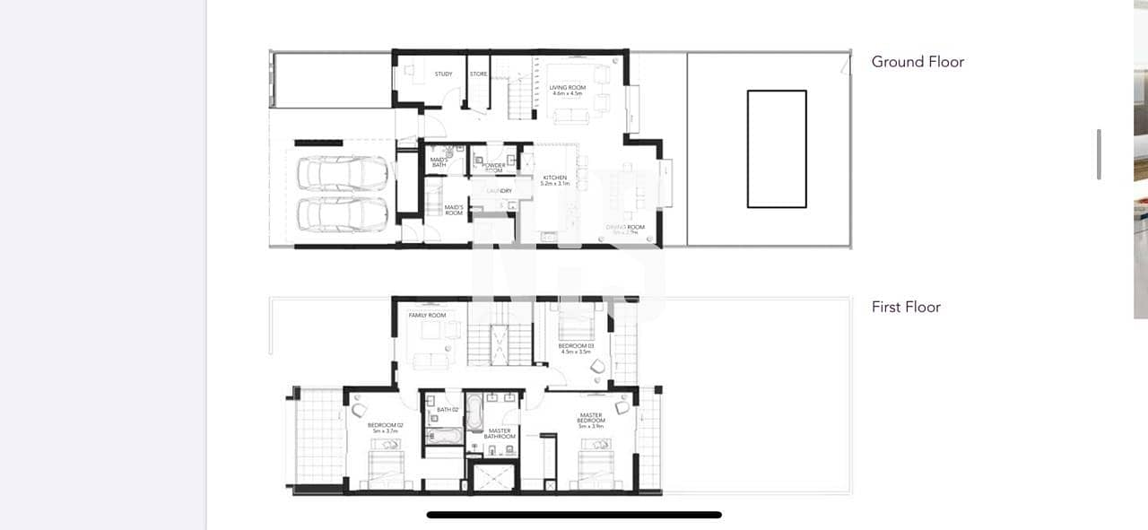 9 brand new 3 bedroom villa | hand over this month